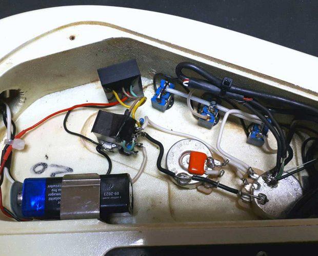 Charvel complet rewiring