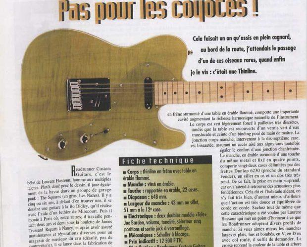 Guitares et Claviers numéro 163