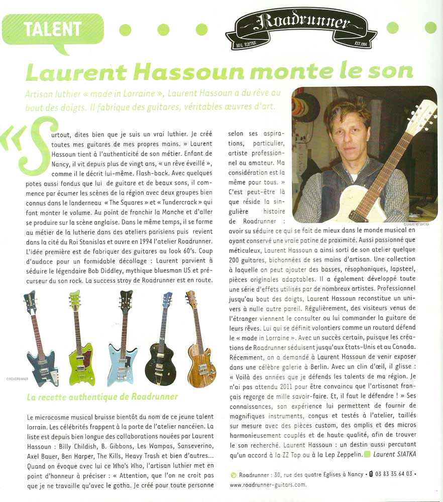 Luthier Made in Lorraine