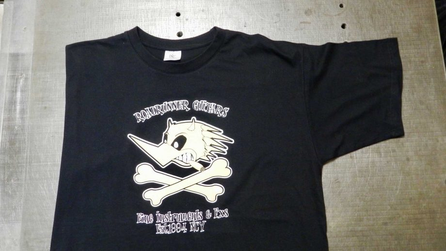 Roadrunner Guitars T-Shirt Black