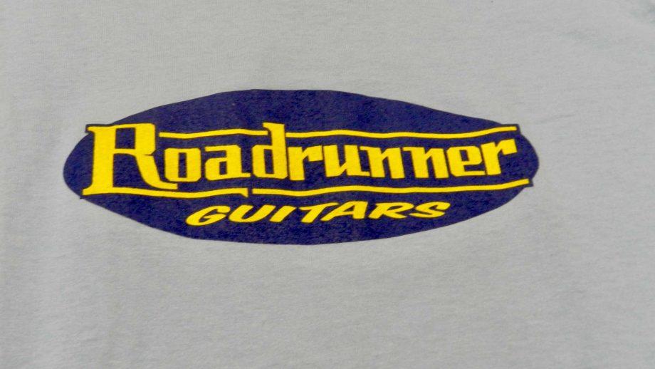 Roadrunner Guitars T-Shirt Blue