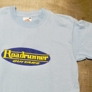 Roadrunner Guitars T-Shirt Blue