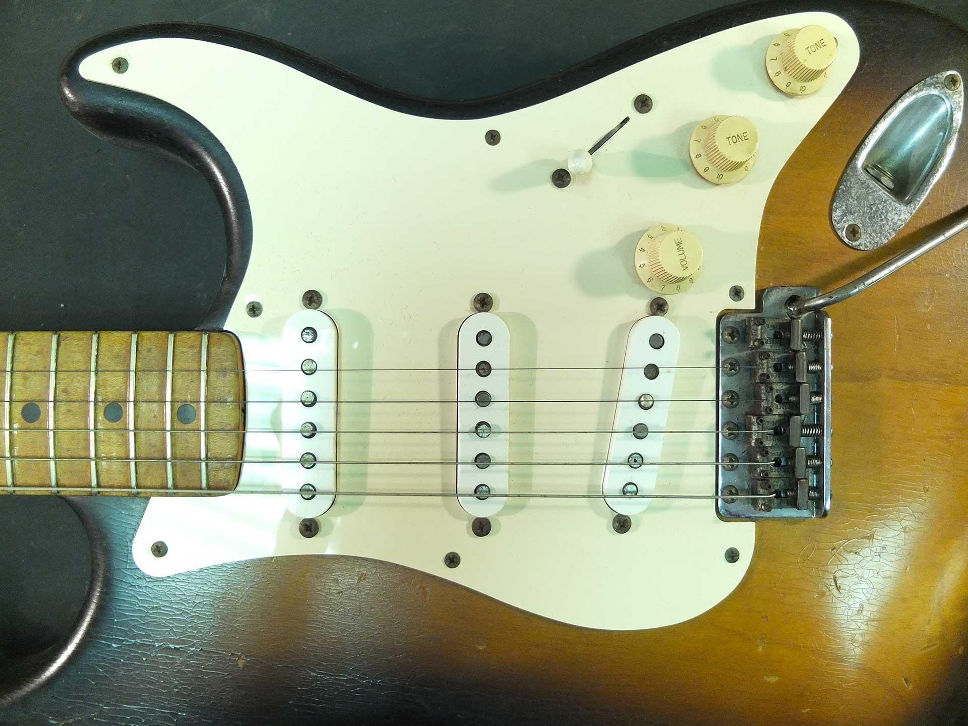 Fender Stratocaster 1955 Restoration