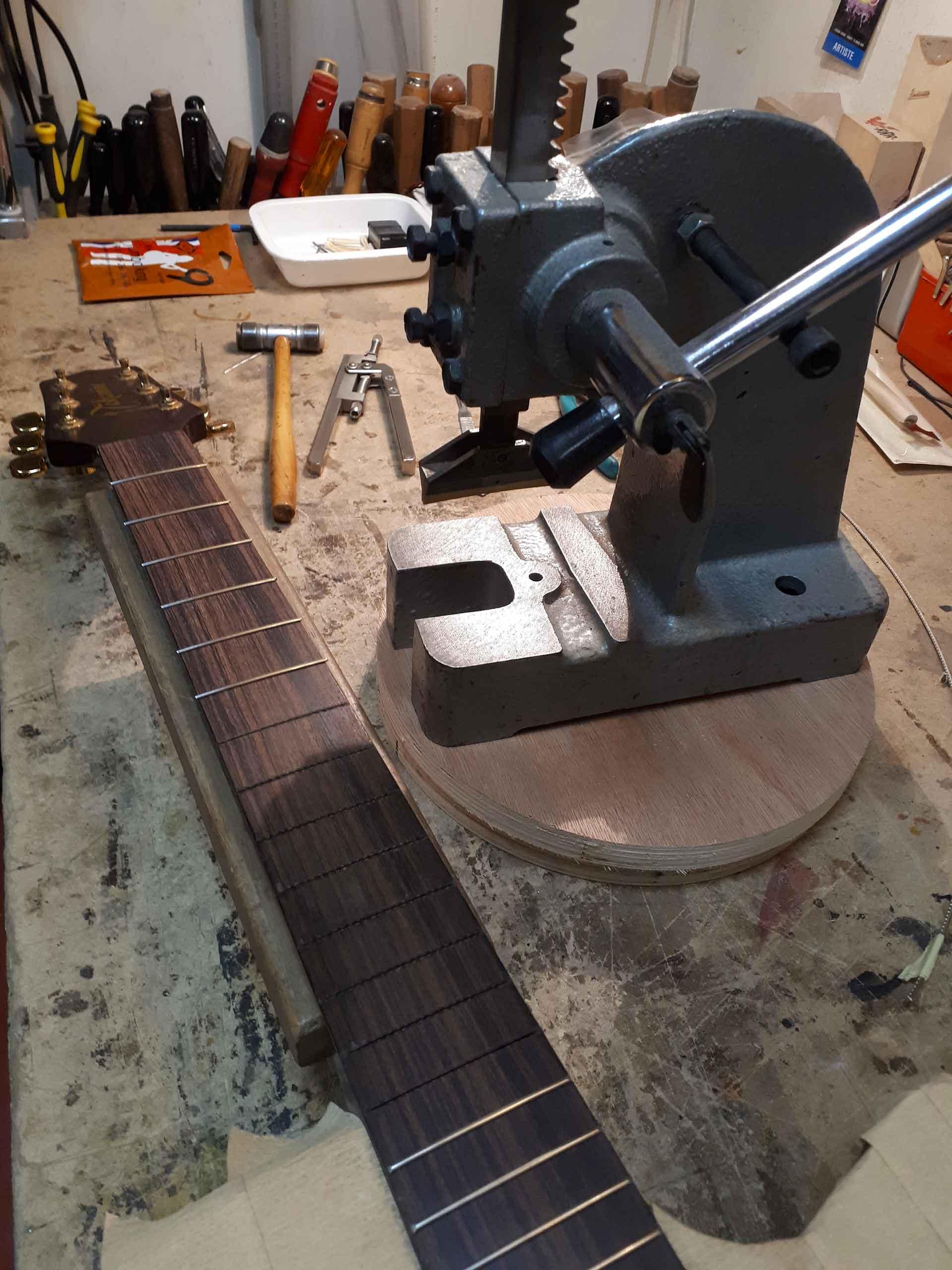 Takamine electro acoustic refretting