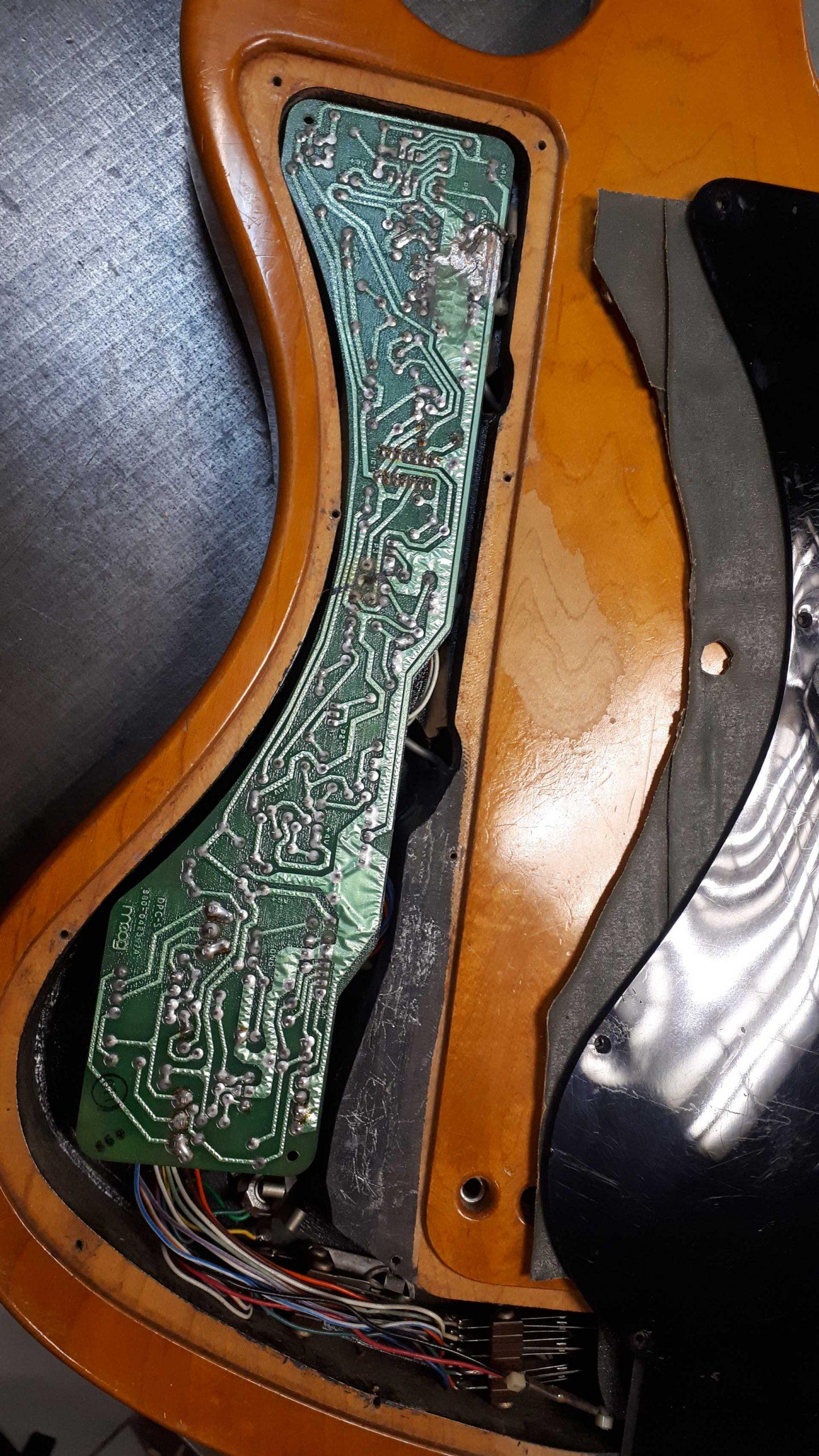 Gibson RD Artist Bass Moog Restoration