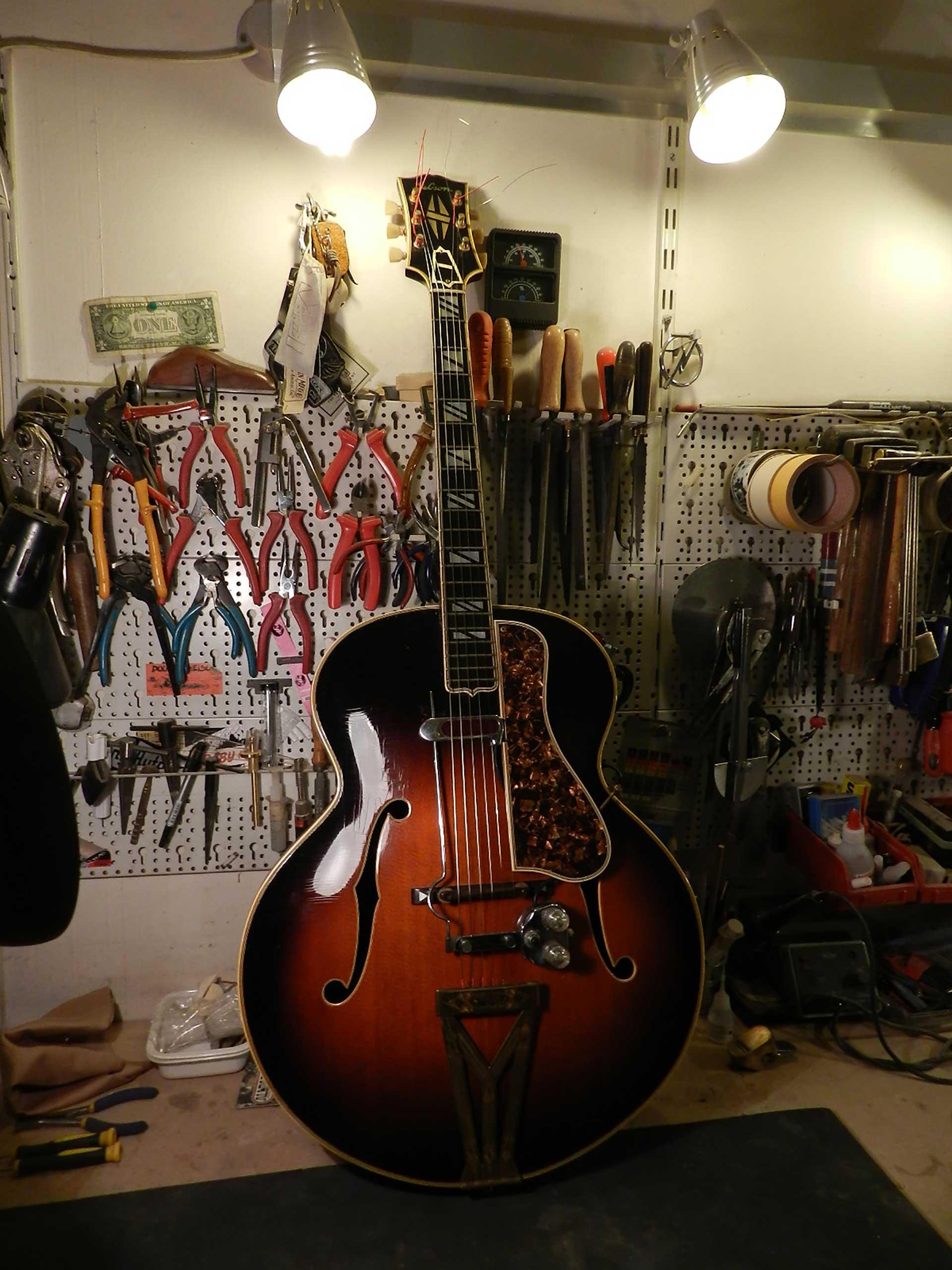 Gibson Super 400 Restoration